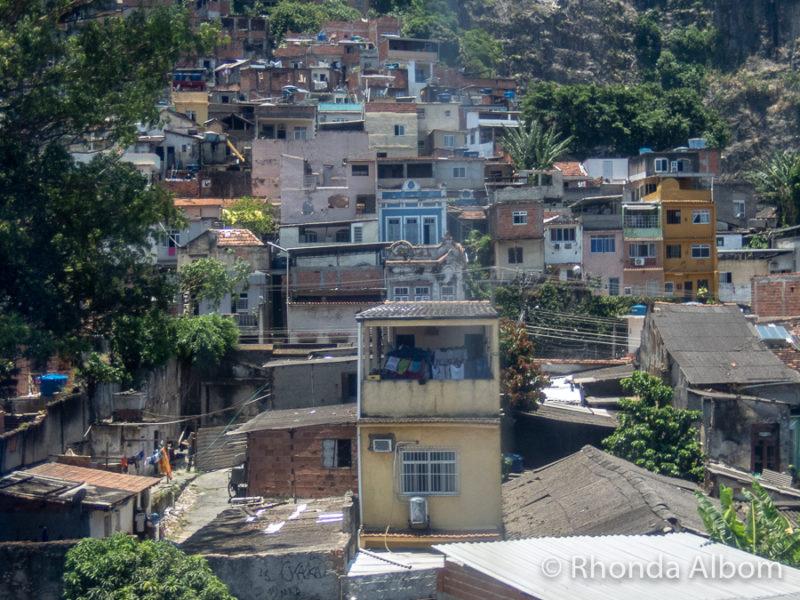 Favelas (slums) in Rio de Janeiro Brazil