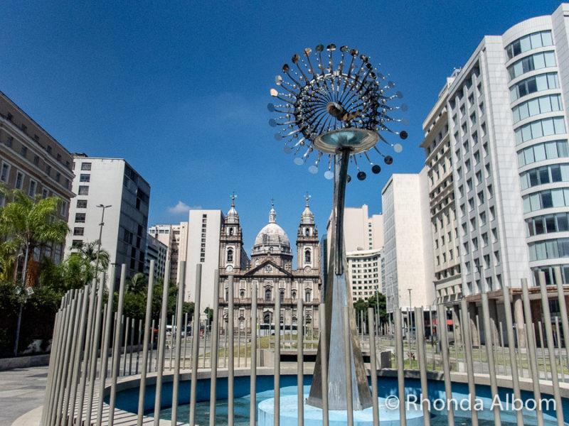 Second Olympic torch in Rio de Janeiro Brasil
