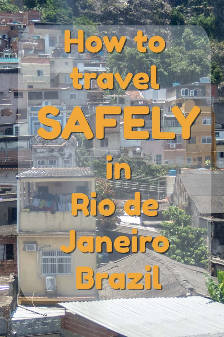 Rio de Janeiro, Brazil is a fabulous city that can be safely explored by following a few simple guidelines, despite its reputation for pickpockets and other crime. #travel #brazil #Rio #RiodeJaneiro #safety #crime