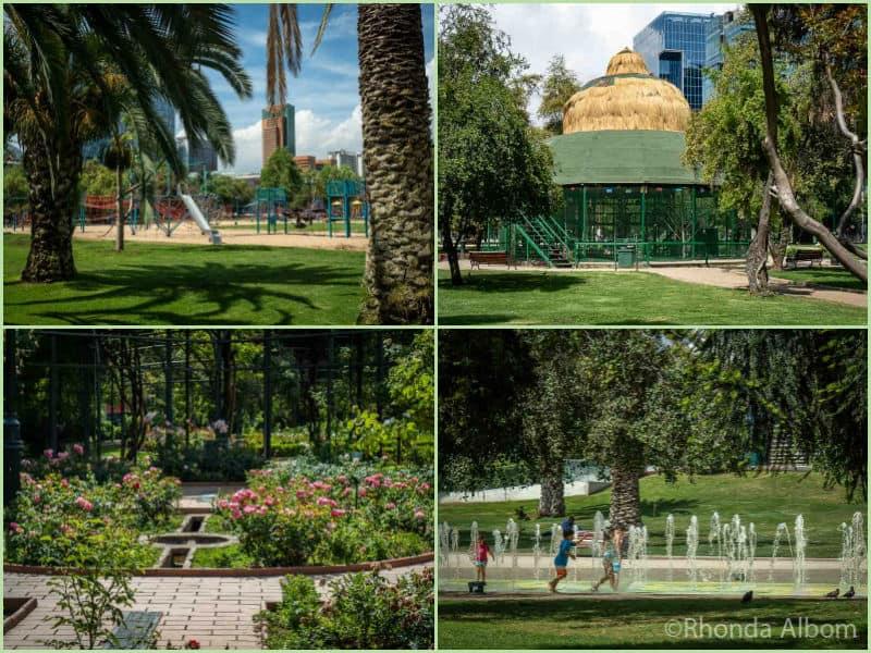 Araucano Park, Santiago Chile