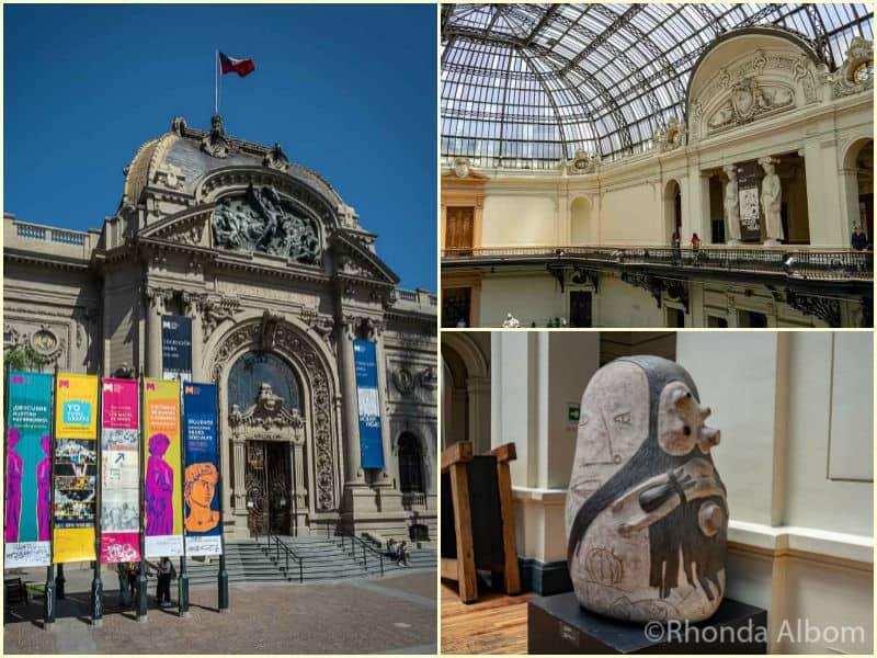Santiago Chile Bellas Artes Museum