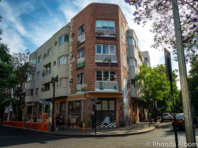 Lastarria neighbourhood in Santiago Chile