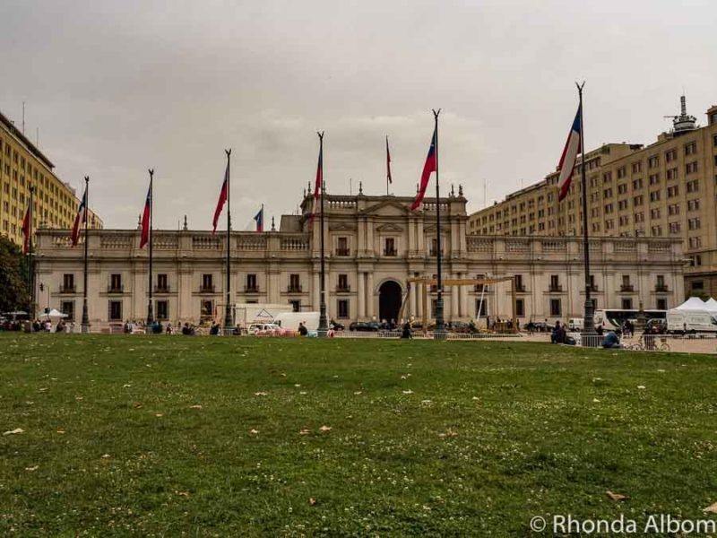 La Moneda Palace - Presidential Palace in Chile