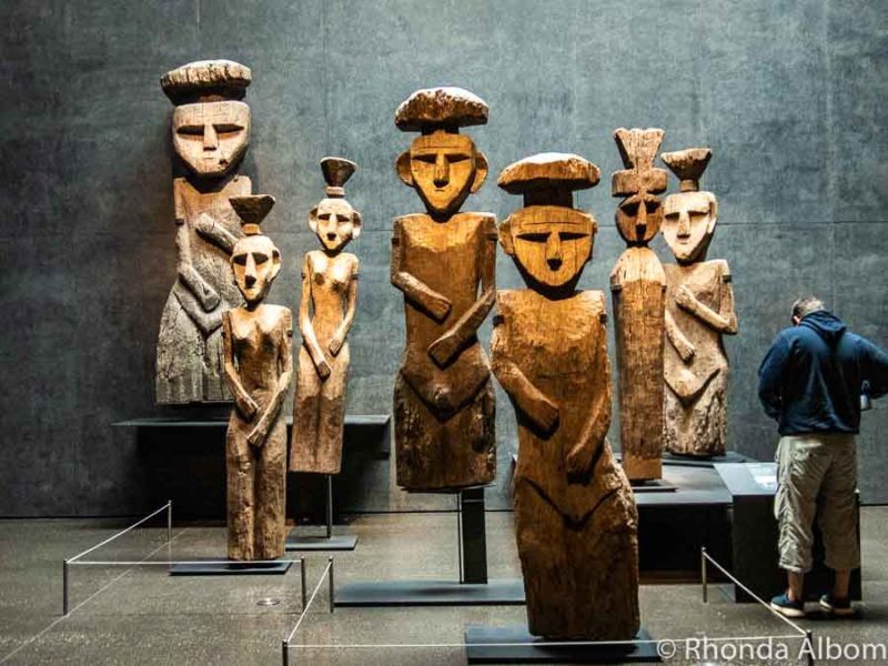 Pre-Colombian Art Museum in Santiago Chile