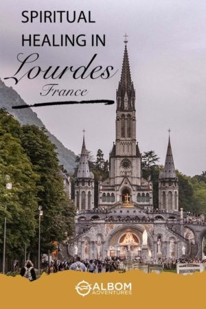 Basilica in Lourdes France