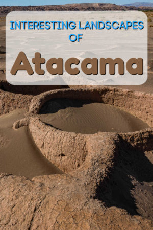 Atacama is the driest non-polar desert in the world. Located in Chile, it is filled with unusual land formations and ruins like Pukara Tulor
