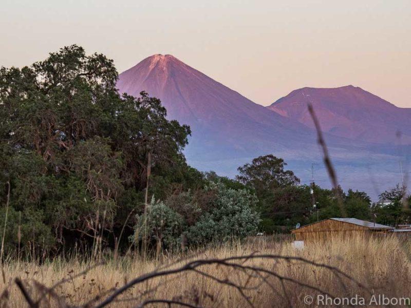 Licancabur Volcano seen from San Pedro de Atacama, Chile