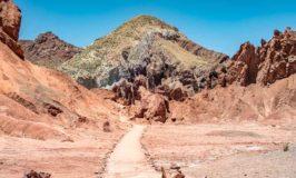Valle del Arcoîris (Rainbow Valley, in the Atacama Desert, Chile