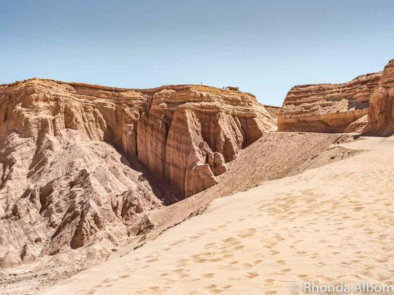 Valle de Marte (Valley of Mars or Valley of Death) in the Atacama Desert in Chile