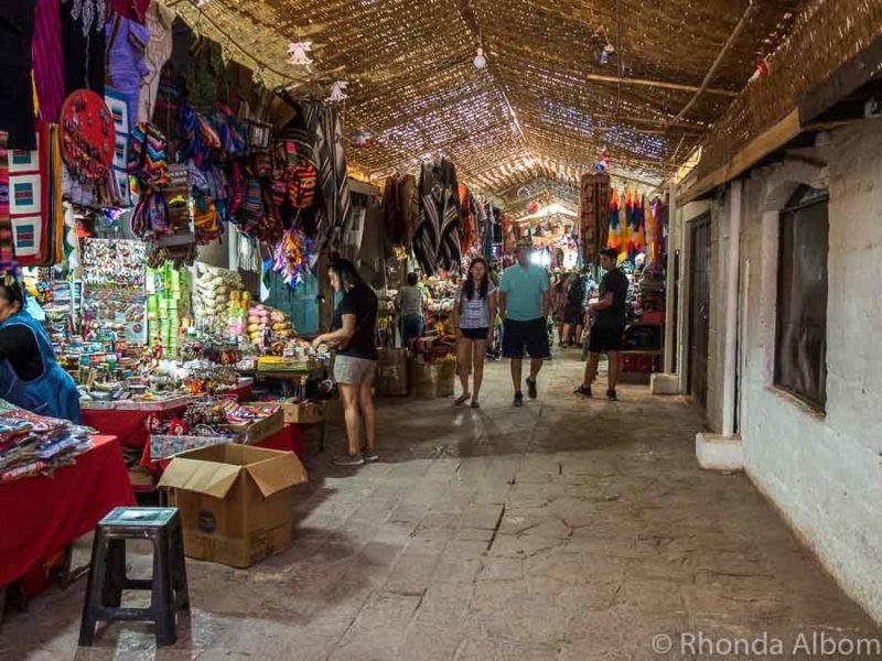 Market in San Pedro de Atacama, Chile