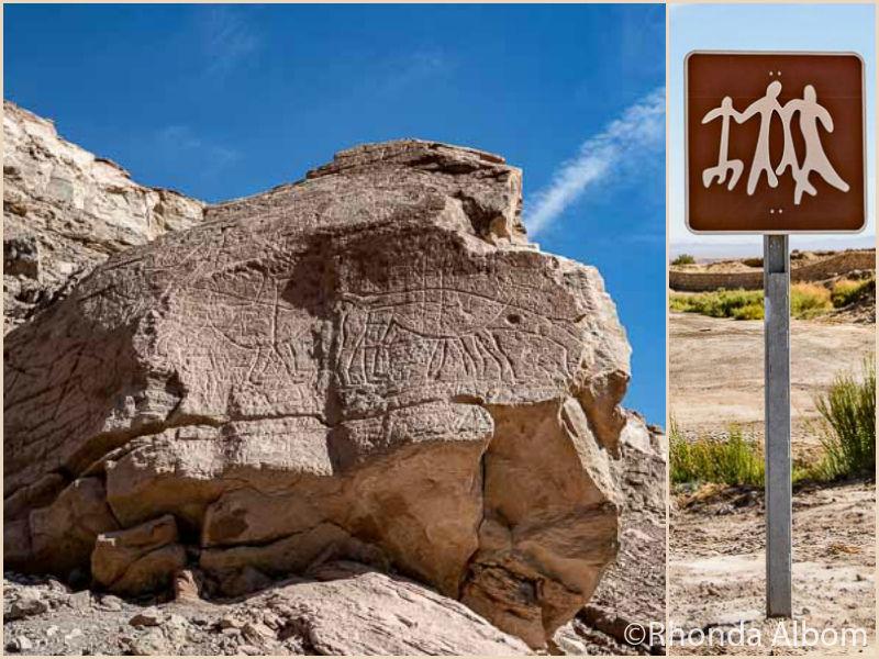 Petroglyphs in San Pedro de Atacama