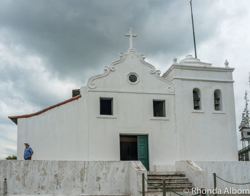 Our Lady of Mt Serrat Sanctuary, at the top of the Funicular