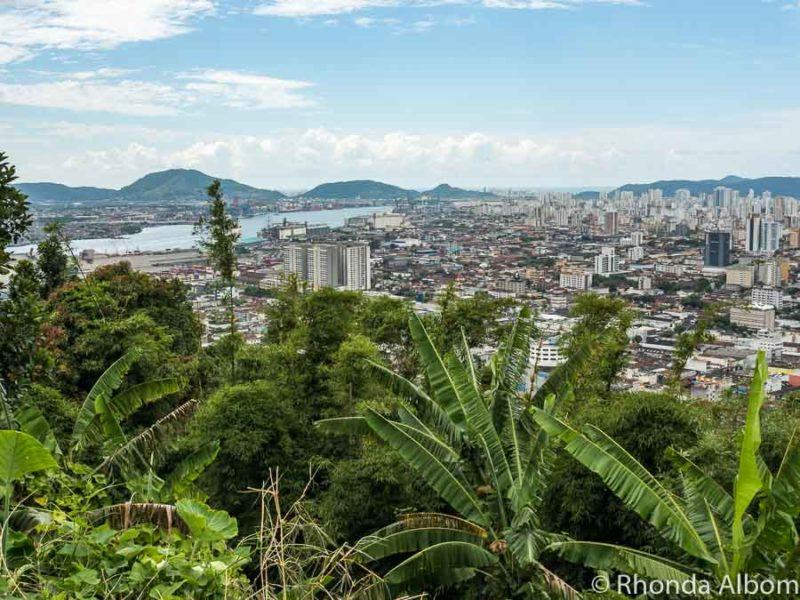 View from Mt Serrat