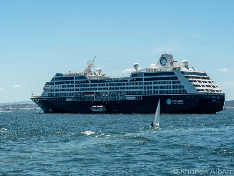 Azamara Pursuit boutique cruise ship in Uruguay - Azamara Cruise reviews in Brazil