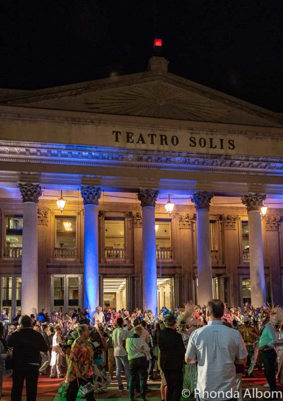 Azamazing event at Teatro Solis, Montevideo Uruguay
