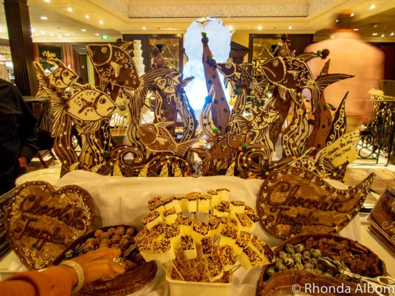 Chocolate buffet on Azamara Pursuit