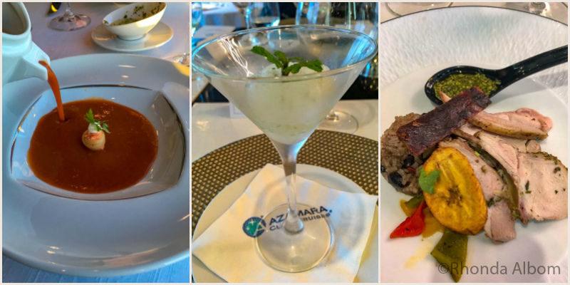 Azamara Specialty Dining