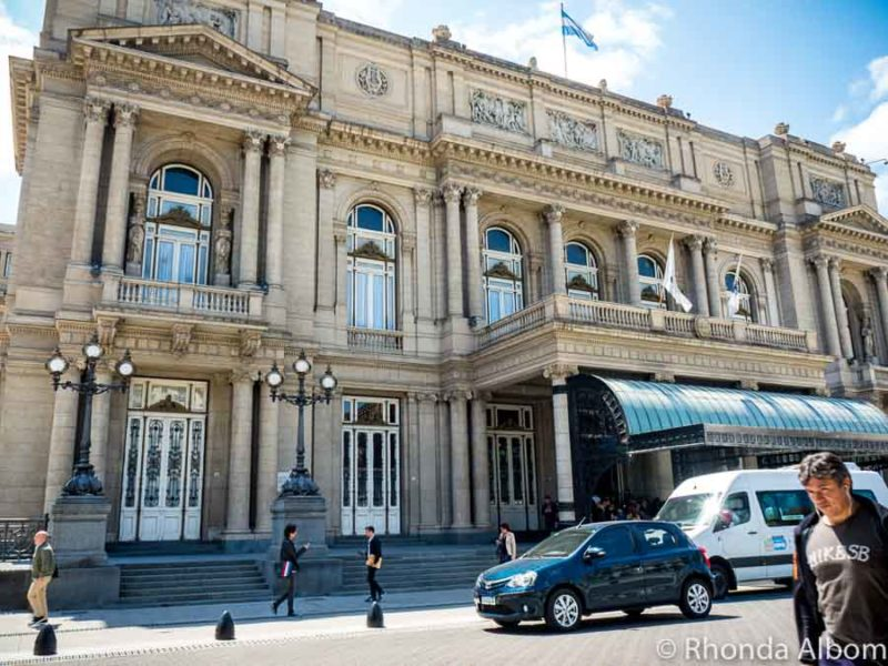Teatro Colon in Buens Aires Argentina
