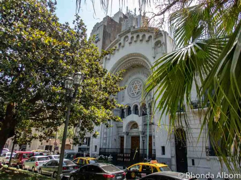 Israelite Congregation is the first synagogue in Buenos Aires Argentina