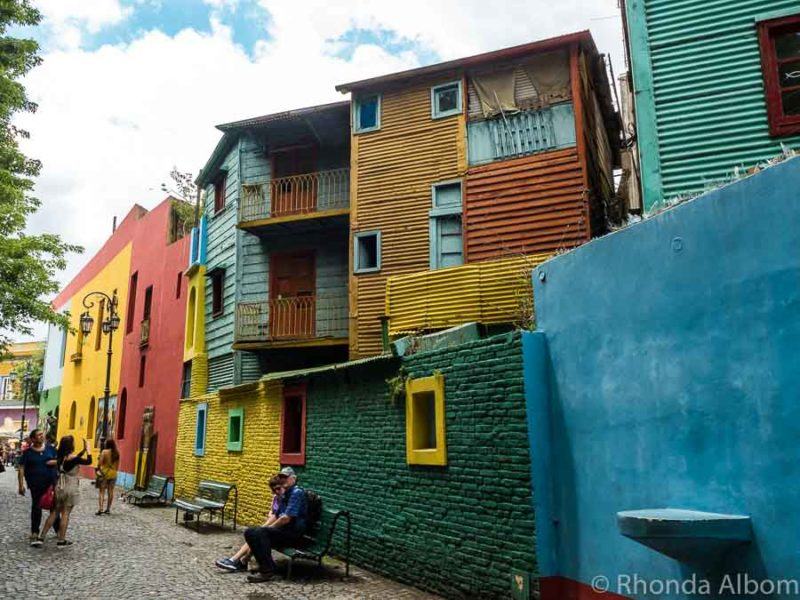 Caminito Street in La Boca is one every top 10 things to do in Buenos Aires Argentina
