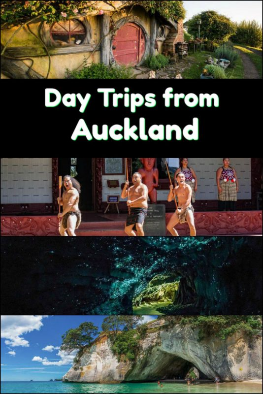 This collection of day trips from Auckland New Zealand will take you to Hobbit holes, geysers, a hot water beach, glowworm caves and so much more. It encompasses the best of Auckland day trip options.