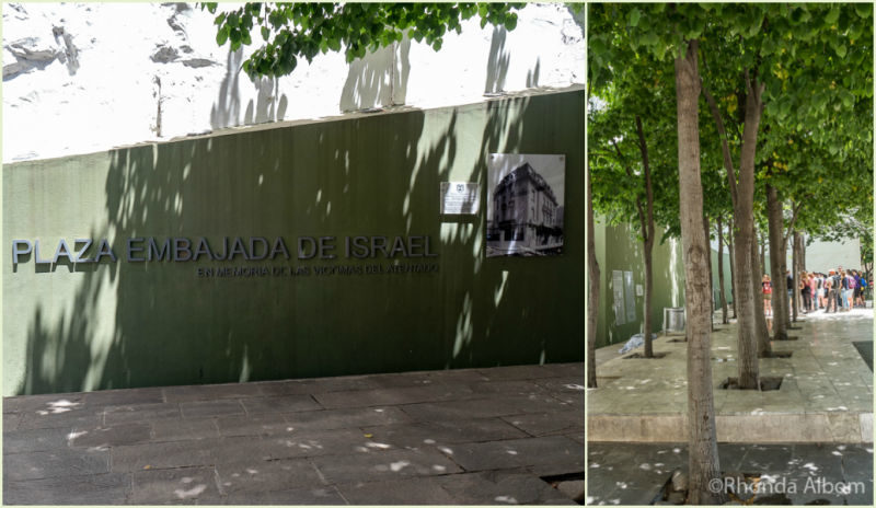 Israeli Embassy Memorial Buenos Aires
