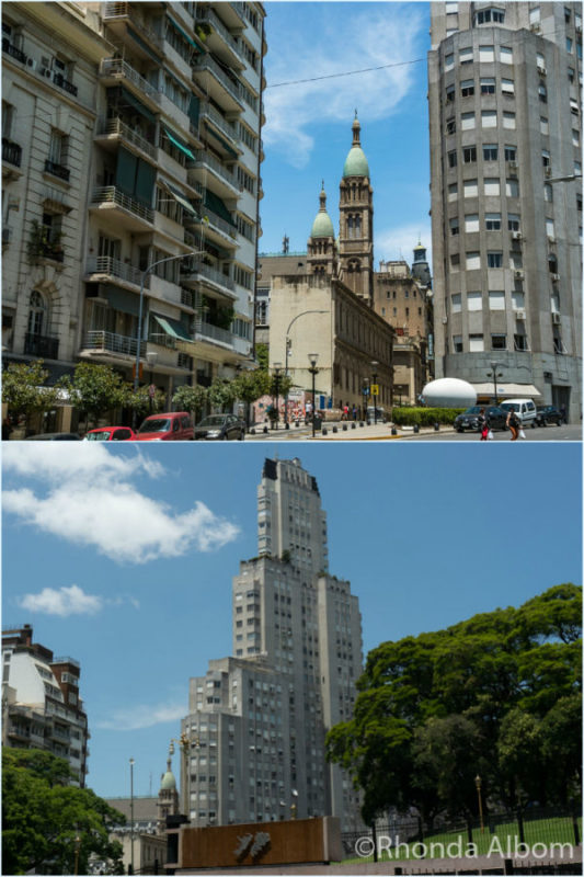 Kavanaugh Building and Basilica del Santisimo Sacramento - two Buenos Aires Attractions with a story to tell