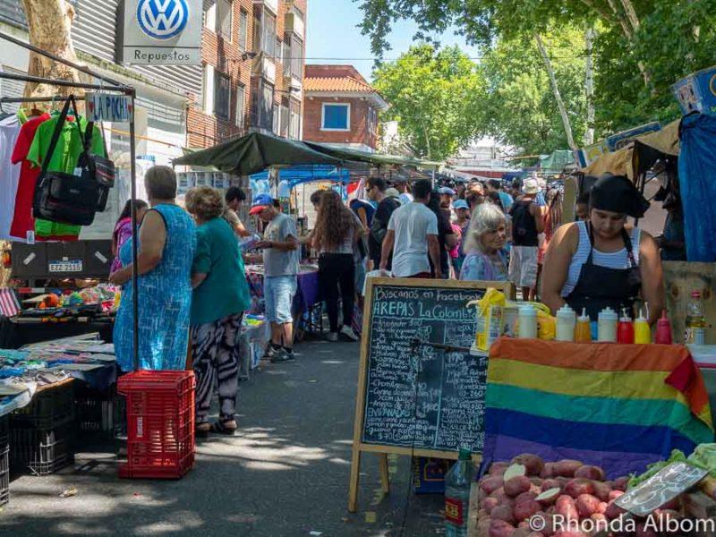 Montevideo flea market, Uruguay