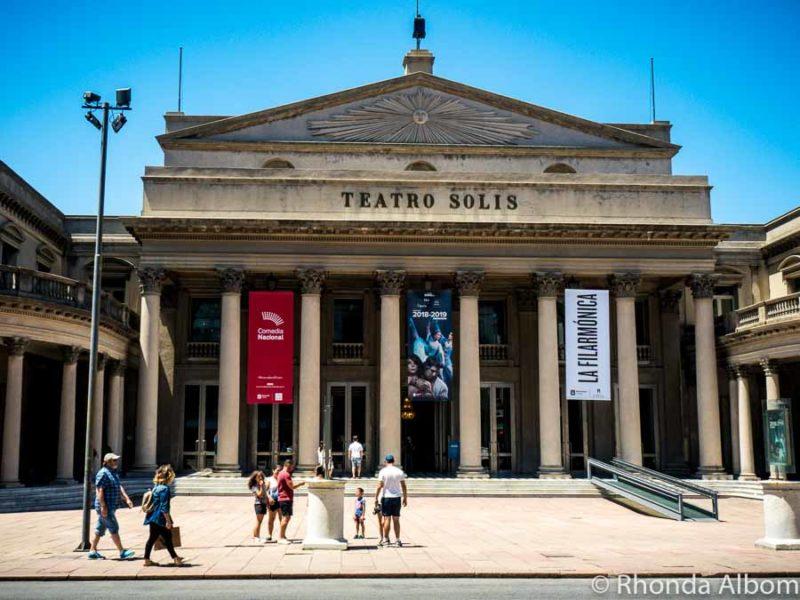 Teatro Solis in Montevideo Uruguay