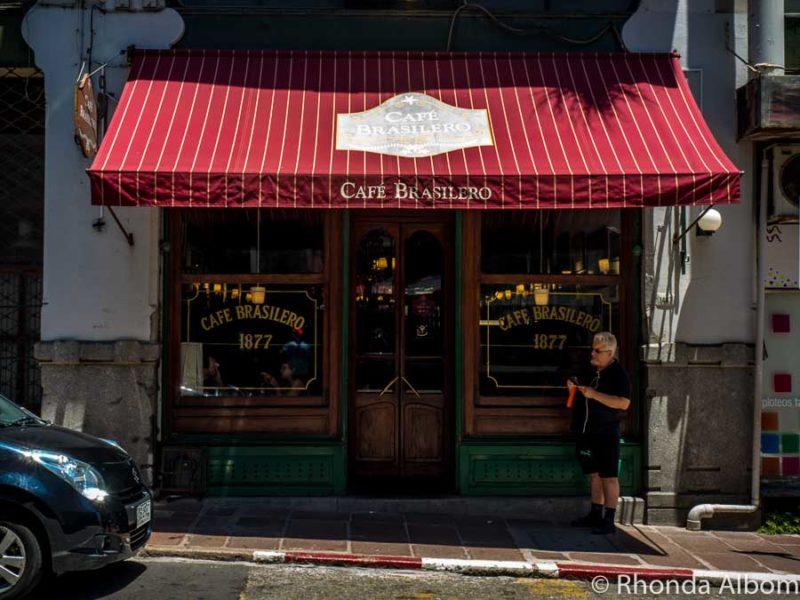 Cafe Brasilero, oldest cafe in Montevideo Uruguay