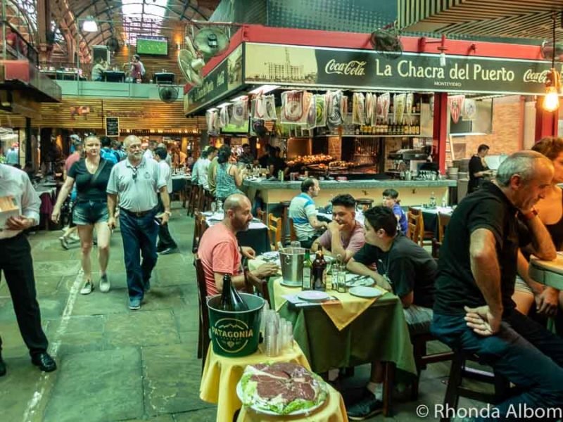 Mercado del Puerto in Montevideo Uruguay