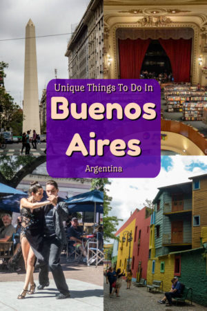 Tango, history, colourful streets, the worlds most beautiful bookstore are just a few of the unique things to see in Buenos Aires, the cosmopolitain capital of Argentina.