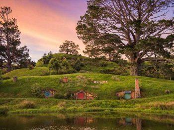 photo credit-Hobbiton Movie Set