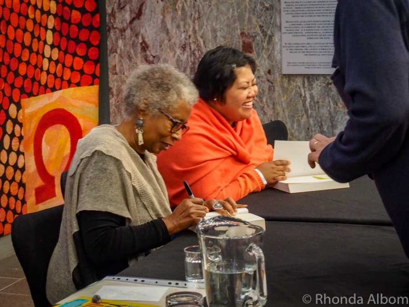 Author Alice Walker in Auckland Writer's Festival New Zealand