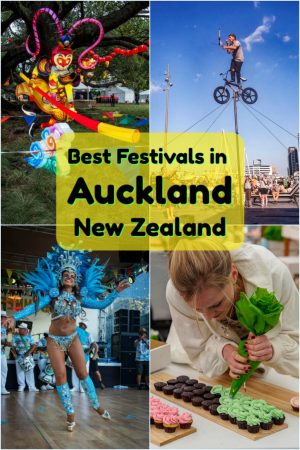 The best Auckland festivals in New Zealand