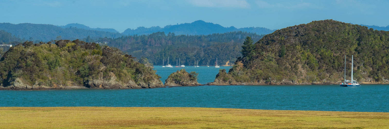 View out to sea, one of the many things to do in Bay of Islands