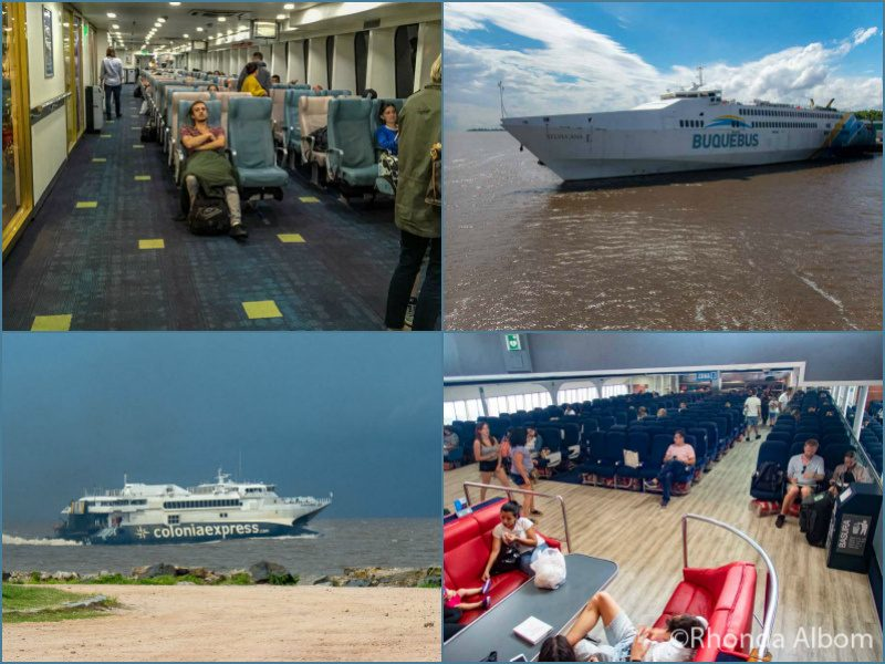Ferries from Buenos Aires to Colonia del Sacramento Uruguay