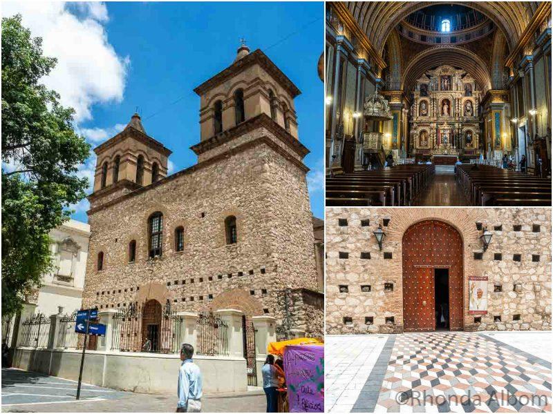 Church of the Society of Jesus in Cordoba Argentina