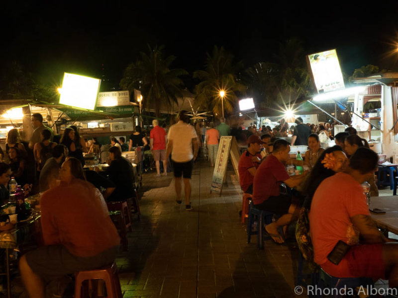 Roulettes Night Market in Papeete, Tahiti