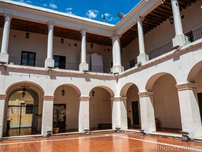 Cabildo, the town council of Cordoba Argentina
