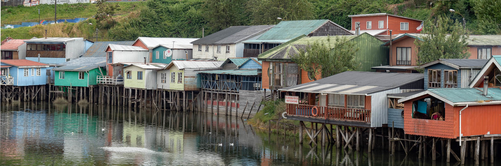 Palafitos are one of the many things to see on Chiloe Island, Chile