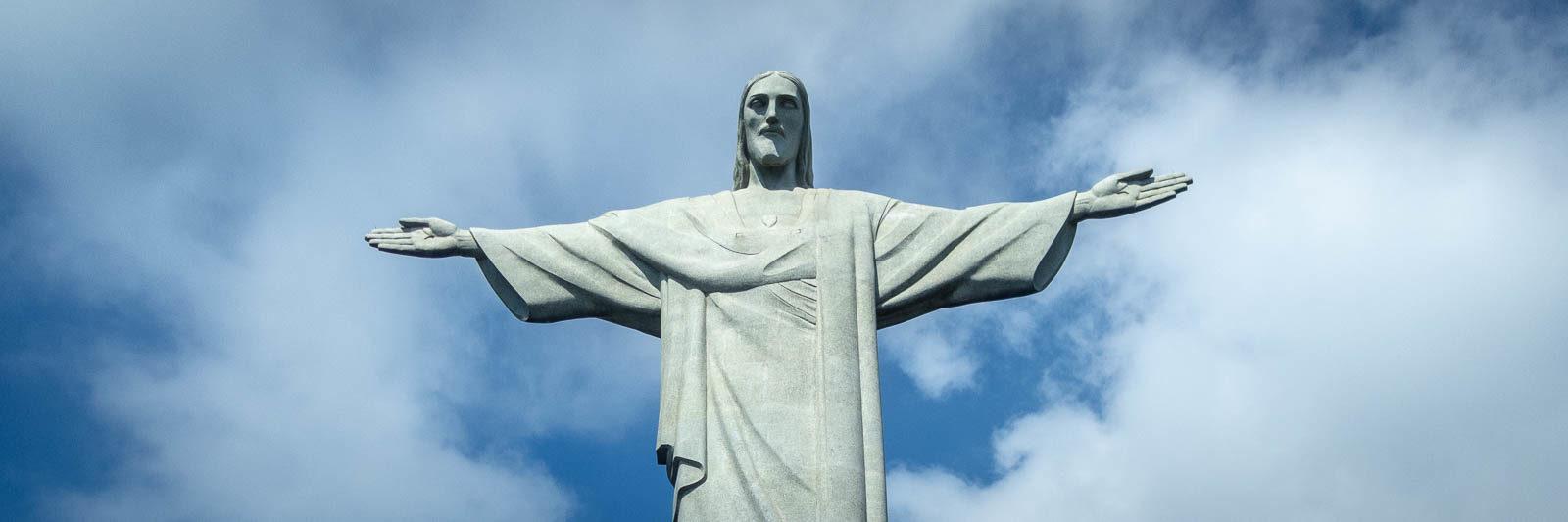 Visit Christ the Redeemer in Rio de Janeiro Brazil