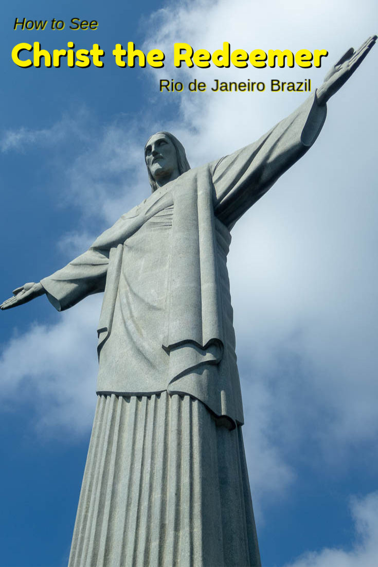 How to see the Christ the Redeemer in Rio de Janeiro, Brazil. There are three ways to get to the top of the Corcovado Mountain. Which is best for you?