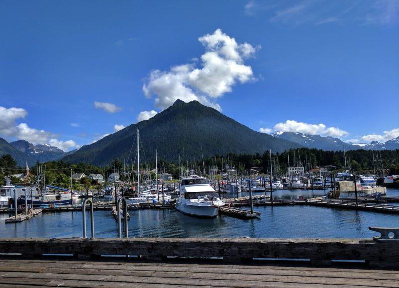 Crescent Harbour, Sitka Alaska a popular port on Alaska cruise routes