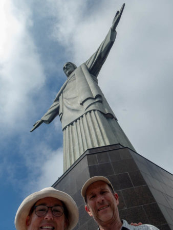 Selfie at on our Christ the Redeemer visit