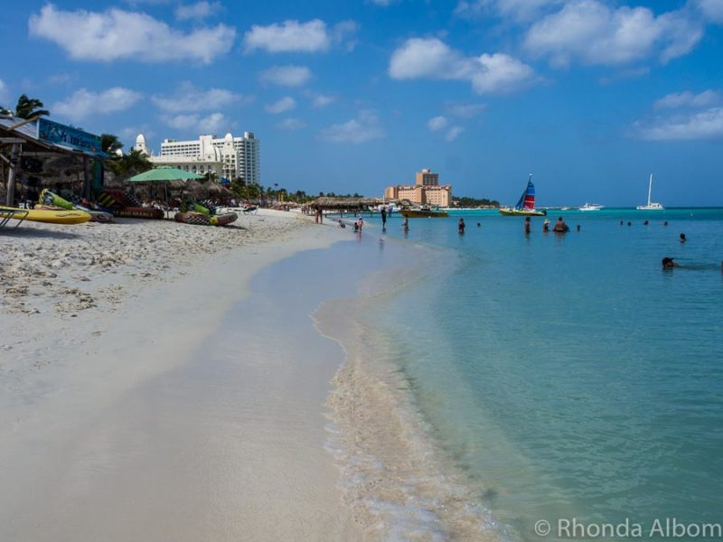 Aruba itinerary options for cruise ship passengers.