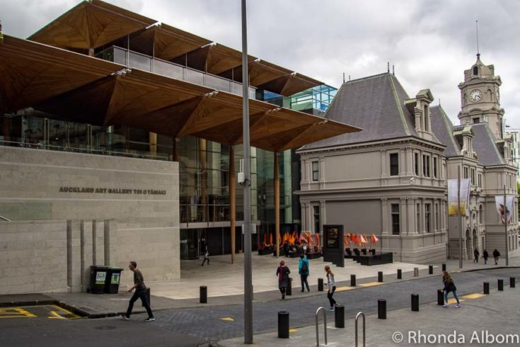 Examine the country's largest collection of art at the Auckland Art Gallery