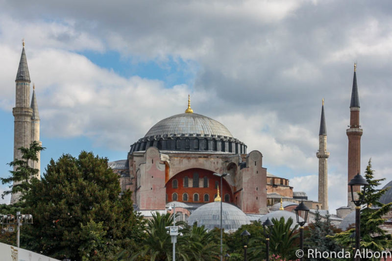Hagia Sophia is one of the best places to visit in Istanbul Turkey