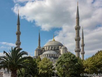 Blue Mosque is a must see in Istanbul Turkey