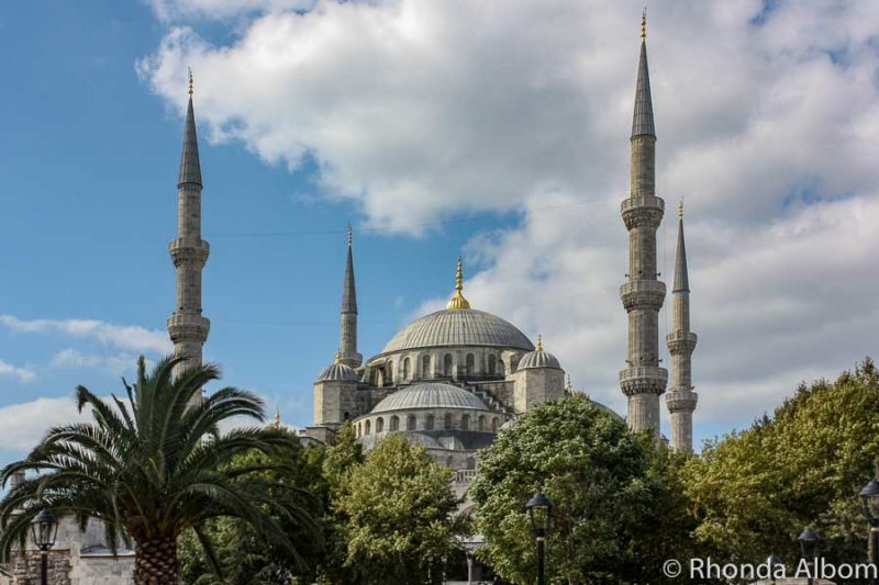 Blue Mosque is a must see in Istanbul